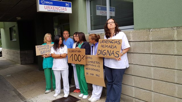 Protesta este domingo 12 de agosto ante los PAC de Galicia