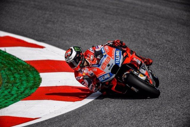 Jorge Lorenzo (Ducati), en el Red Bull Ring