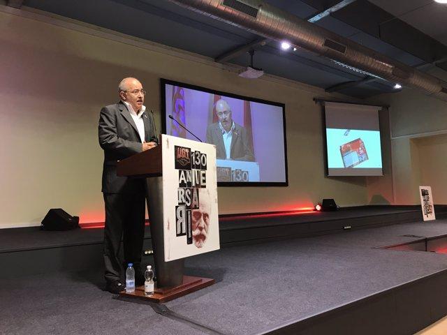 El conseller d'Ensenyament de la Generalitat, Josep Bargalló