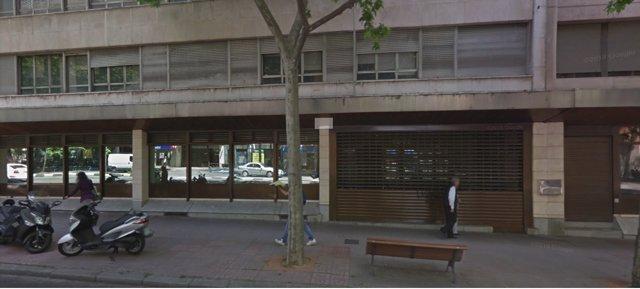 Edificio de la calle Príncipe de Vergara Okupado por Hogar Social Madrid