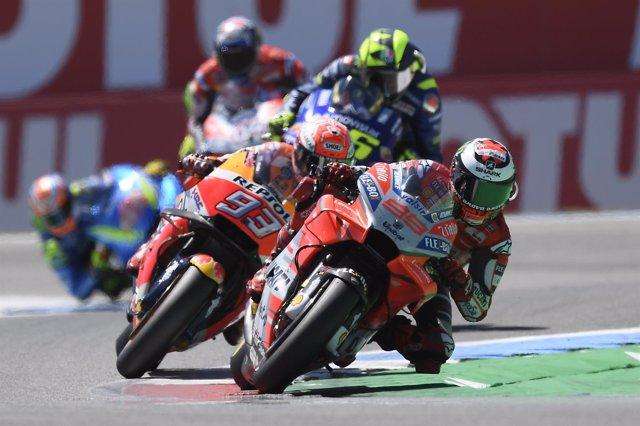Jorge Lorenzo, en el GP de Holanda