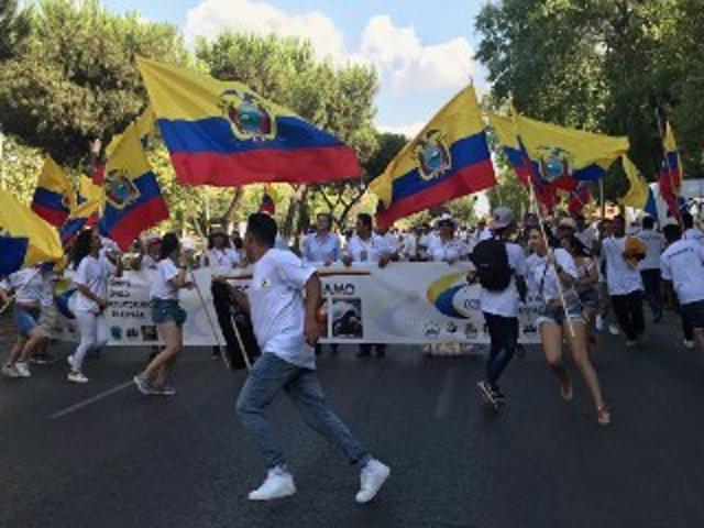 Fiesta de la Indenpendencia de Ecuador