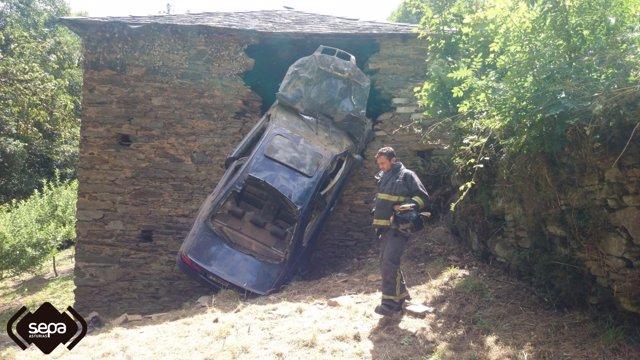 Accidente en Cangas del Narcea.