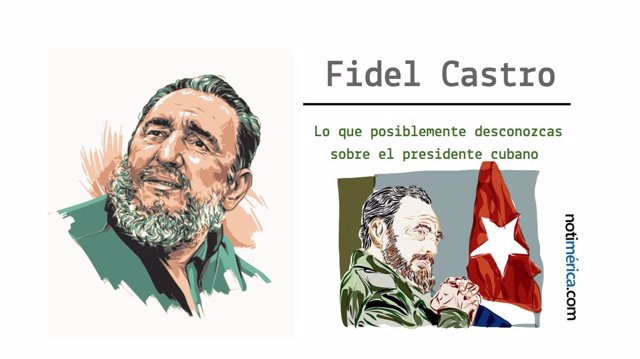 Lo que posiblemente desconozcas sobre Fidel Castro