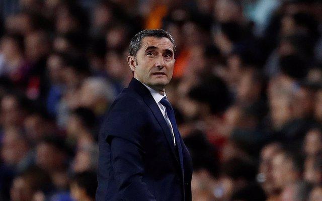 Ernesto Valverde - Champions League 2017/18 - Quarter Final - First Leg