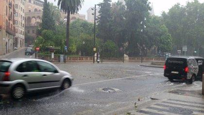 Mallorca, en aviso amarillo este lunes por lluvias y tormentas