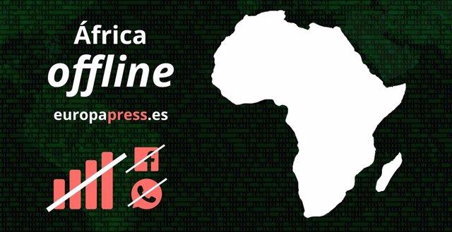 África se desconecta de Internet