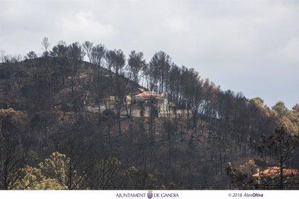 Los bomberos dan por extinguido el incendio de Llutxent tras arrasar más de 3.200 hectáreas en una semana