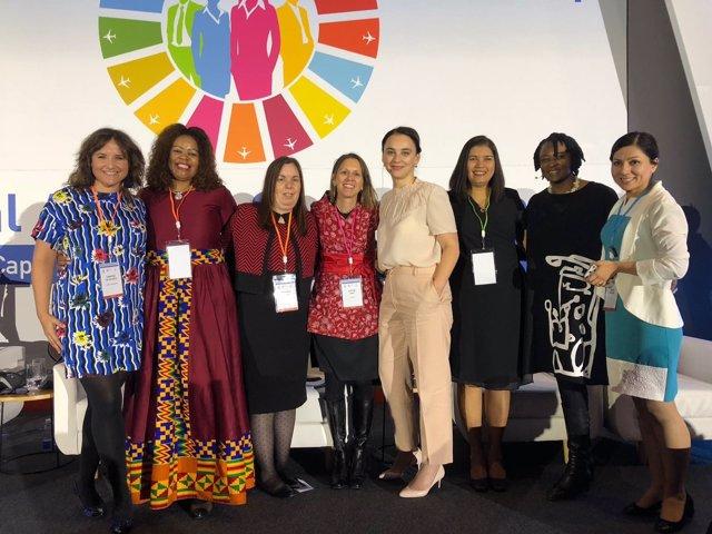 La asociación Ellas Vuelan Alto participa en la primera Cumbre Global de Género
