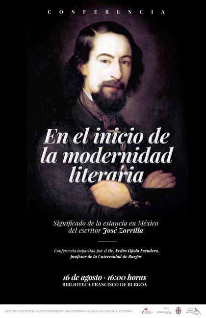 Oaxaca (México) recuerda a José Zorrilla con una sesión académica y una exposición