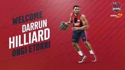 Kirolbet Baskonia firma al exterior de los Spurs Darrun Hilliard