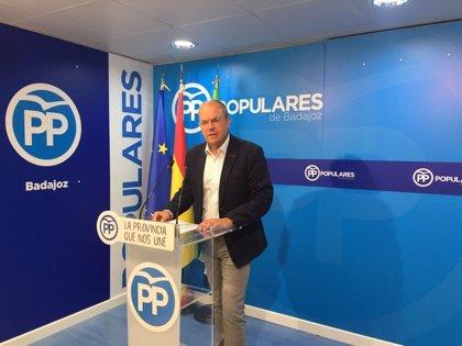"""Monago subraya que la """"previsión irreal"""" de ingresos de la Junta demuestra que ha """"engañado a sus socios"""" de Podemos"""