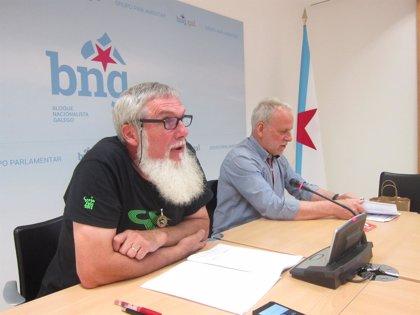 """El BNG llama a investigar las causas del accidente de O Marisquiño y traslada su """"apoyo"""" a los heridos"""
