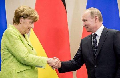 Merkel y Putin se reunirán este sábado a las afueras de Berlín
