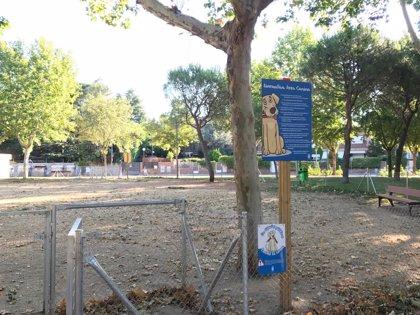 El Ayuntamiento habilita una zona canina en el Parque de Clamart