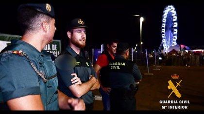 Guardia Civil practica once detenciones en el 'Dreambeach' e investiga una denuncia por abuso sexual