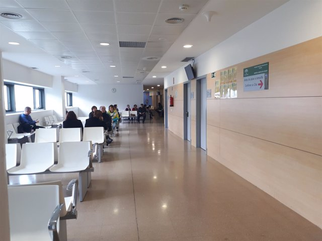 Sala de espera de Oncología en el Hospital del Campus de la Salud