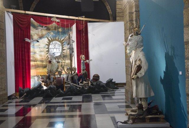 Exposición Teatroum en el Palacion Provincial