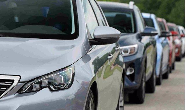 Recurso de tráfico, atasco, vehículos