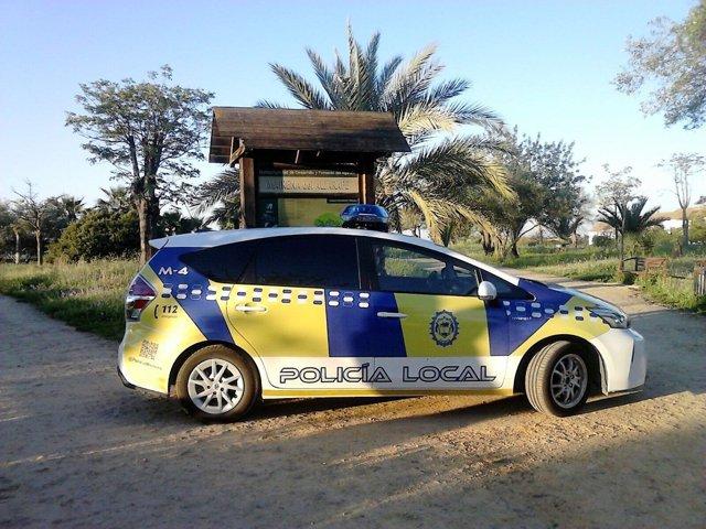 Coche patrulla de la Policía Local de Mairena
