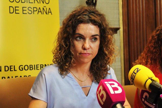 Delegada del Gobierno en Baleares, Rosario Sánchez