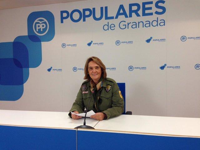 La diputada provincial del PP Luisa García Chamorro