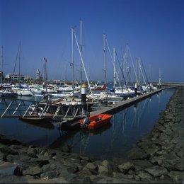 Puerto de Isla Cristina (Huelva).