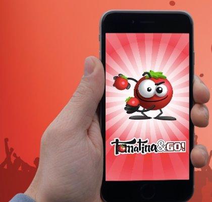 Pruebas de geolocalización o lanzamiento de tomates protagonizan el nuevo juego de realidad aumentada Tomatina&Go