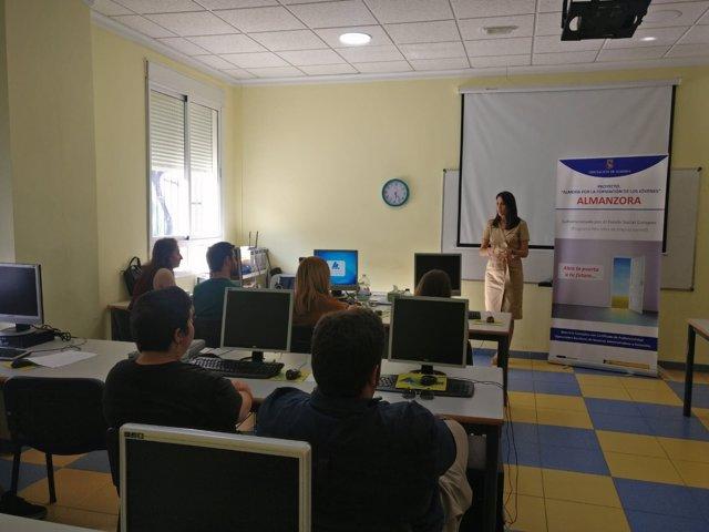 Alumnos en el curso impartido por la Diputación Provincial
