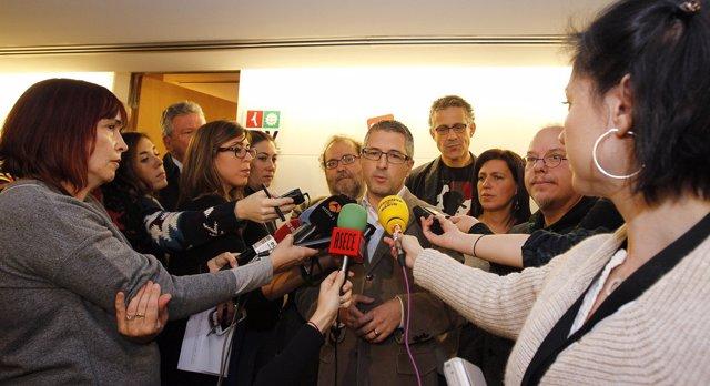 Hugo Morán del PSOE