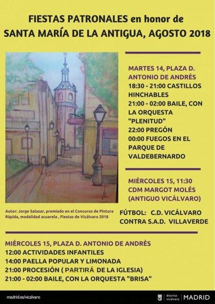 Las comerciantes de Vicálvaro, pregoneras de las fiestas de La Antigua