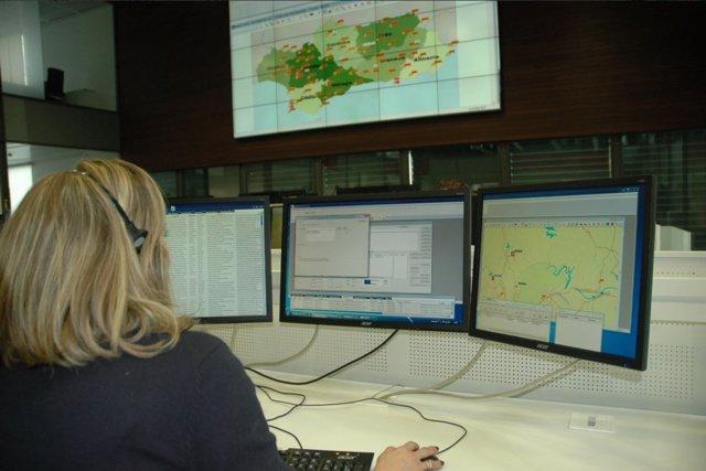 Operaria de Emergencias 112 Andalucía