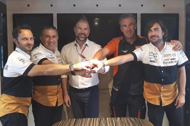 Ángel Nieto Team KTM Moto2 acuerdo