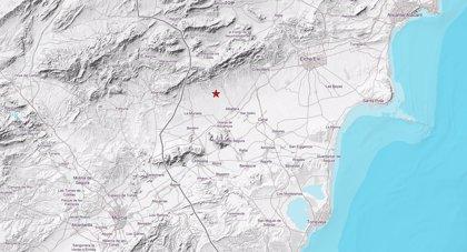 Un terremoto de 4,2 grados en la escala de Richter con epicentro en Albatera se deja sentir en Alicante y Murcia
