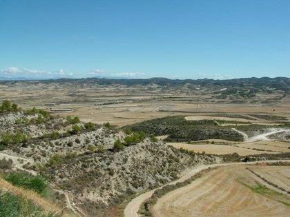 ASAJA Huesca prevé que los daños ocasionados este domingo por la tormenta en Monegros sean cuantiosos