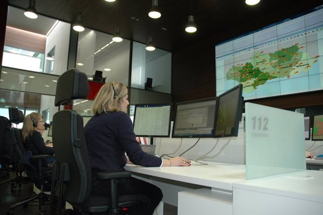 Centro de control de servicio Emergencias 112