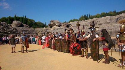 """Convocan una concentración en Itálica por el """"día de la romanidad"""" y en respaldo a la candidatura a la Unesco"""
