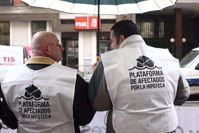 La PAH se concentra este jueves en la sede del PSOE en Ferraz