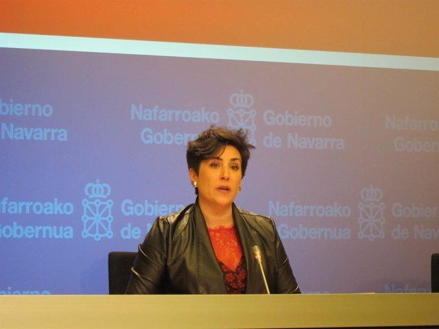 María Solana, portavoz del Gobierno de Navarra