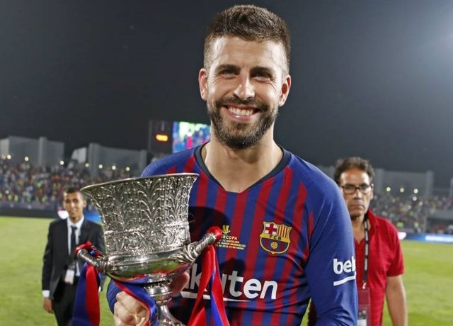 Gerard Piqué, central del Barça