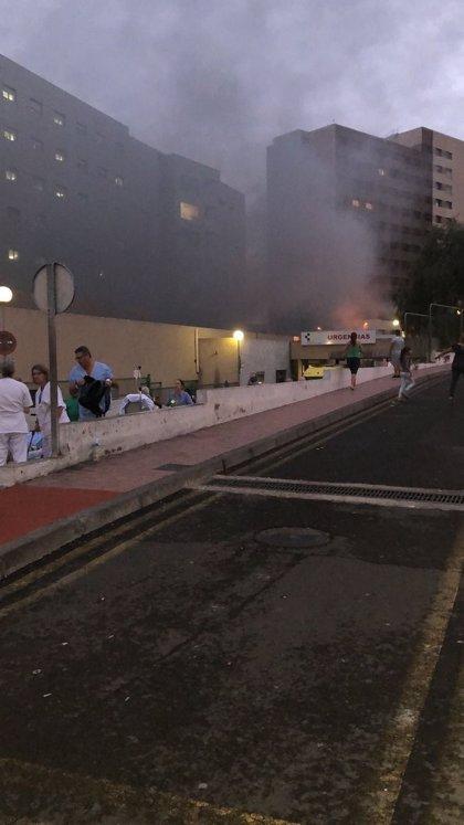 Logran sofocar el incendio registrado en el Hospital de La Candelaria