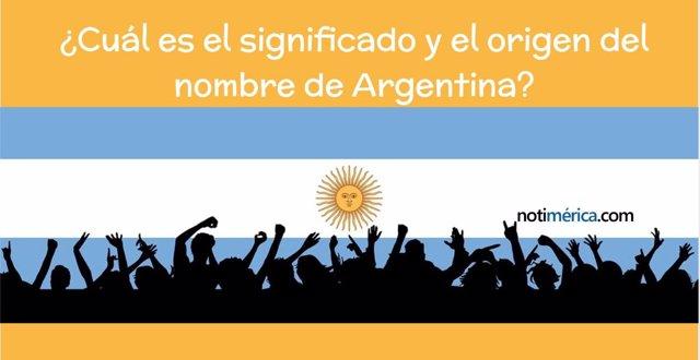 Significado del nombre de Argentina