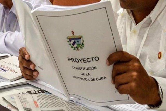 Proyecto de la reforma constitucional en Cuba