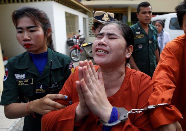 Detenida la activista defensora de los derechos sobre la tierra