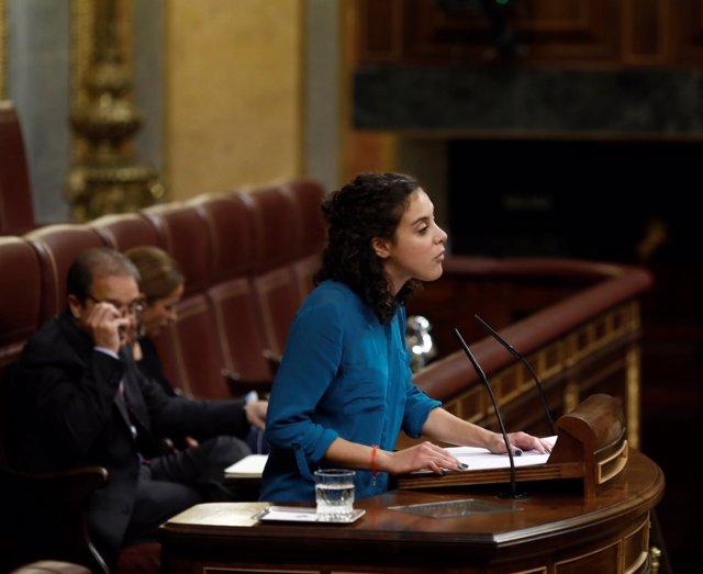 Nagua Alba, diputada de Podemos