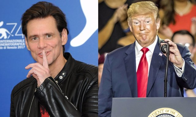 Jim Carrey ser ríe de Donald Trump