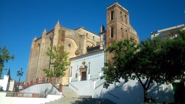 Iglesia parroquial de Cazalla