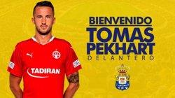 L'internacional txec Tomás Pekhart fitxa per la UD Las Palmas per les dues pròximes temporades (UD LAS PALMAS)