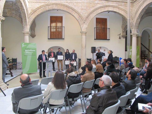 Entrega de los Premios de Periodismo y Comunicación Local de 2017.