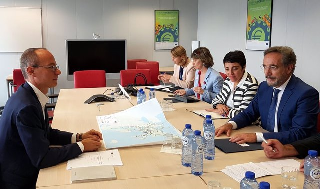 Felipe López se reunió en Bruselas con Alessandro Carano en junio
